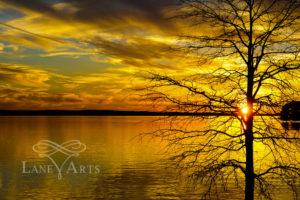 Golden Lake Murray Sunset